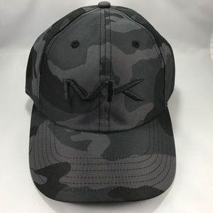 Michael Kors Stealth Camouflage Gray Strapback